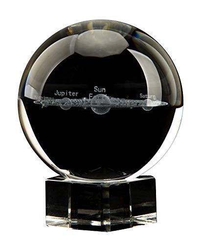 Aircee 3D Solar System Crystal Ball, Decorative...