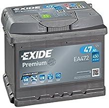 Exide Premium Carbon Boost EA472 47Ah Autobatterie (precio incluida 7,50 EUR prenda)