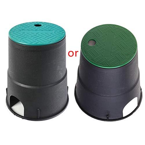 YOURPAI Box Abdeckung, 6 Zoll Garten Rasen Unterirdisch Box Kappe Sprinklersystem Bewässerungsabdeckung