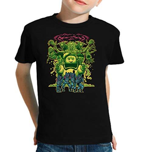 The Fan Tee Camiseta de NIÑOS Cazafantasmas Ghostbusters Mocosete Retro 003