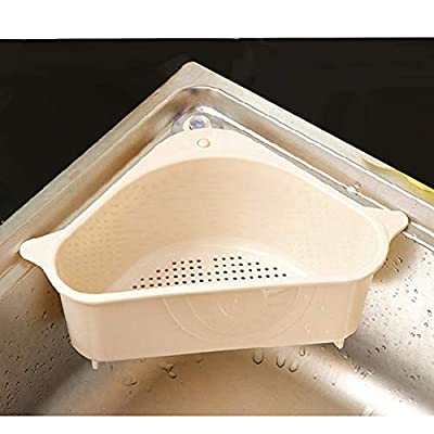 Kitchen Sink Corner Strainer Basket,Storage Rac...