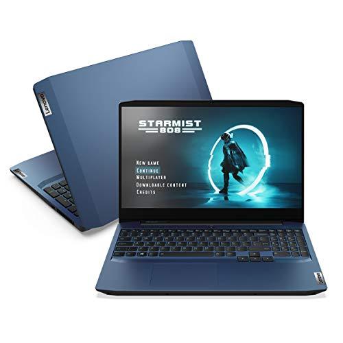 """Notebook ideapad Gaming 3i i7-10750H 16GB 512GB SSD GTX 1650 4GB 15.6"""" FHD WVA W10 82CG0004BR"""