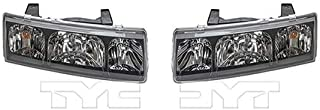 CarLights360: Fits 2002 2003 2004 Saturn Vue Headlight Assembly Driver and Passenger Side NSF Certified w/Bulbs - Replaces GM2502228 GM2503228