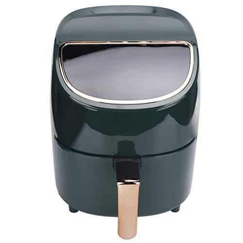 Fourket Freidora de Aire 3. 5L de Gran Capacidad Freidora Eléctrica Inteligente LCD sin Aceite Freidora Inteligente de Patatas Fritas Verde Oscuro