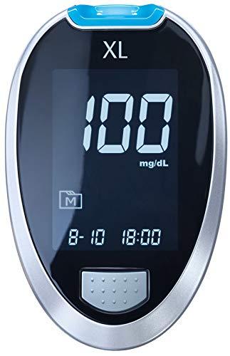 GlucoCheck XL Blutzuckermessgerät (mg/dl)