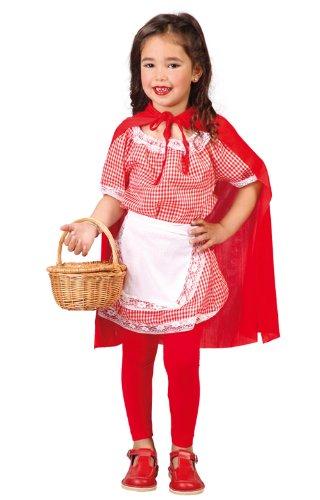 Guirca-Caperucita Costume Cappuccetto Rosso per Bambini, 82703