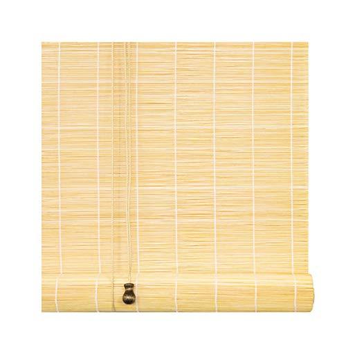 Roller blind Lxn Persianas enrollables de bambú Cortinas de filtrado