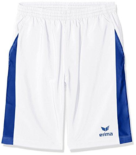 Erima Jungen Masters Short, weiß/Mazarine Blue, 152