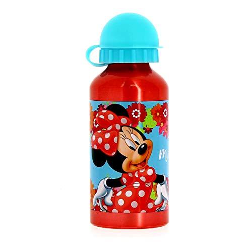 Minnie Mouse Stor 14534 Petite bouteille en aluminium 400 ml