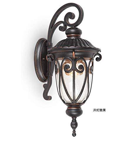 Wandlamp retro lamp industriële wandlamp type Loft vloerlamp industriële lamp hanglamp wandlamp dubbelkop Europees waterdicht voor hal buiten