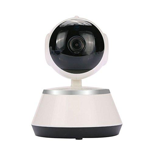 Rosepoem Cámara Inalámbrica De La Red del Webcam 1080P WiFi, Registrador De Dvr De La Tarjeta del TF De La Ayuda V380 para La Supervisión De La Seguridad En El Hogar