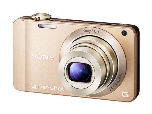 ソニー SONY デジタルカメラ Cybershot WX10 1620万画素CMOS 光学x7 ゴールド DSC-WX10/N