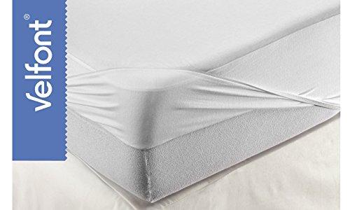 Velfont hoeslaken en matrasbeschermers Respira 90x200 wit