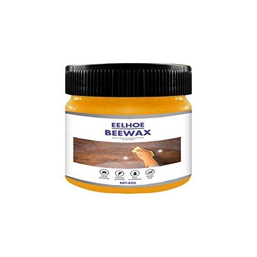 Holzgewürz Beewax, traditionelles Bienenwachs-Poliermittel für Holz und Möbel, natürliches Bienenwachs-Holzreiniger und Polieren, für Möbel, Fußböden, Tische, Schränke (90g-C)