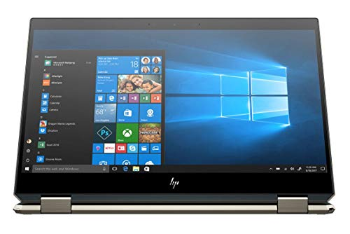 HP Spectre x360 15t Touch 10th Gen Intel i7-10510U, 4K IPS, 3 Years McAfee Internet Security,Windows 10 PRO Upgrade Key, Pen,Worldwide Warranty, 2-in-1 Optane laptop (16GB, 512G, Poseidon Blue)