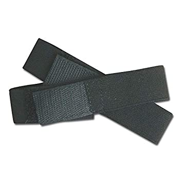 Raine Black Boot Blousers -1 Pair- Boot Blousers - Military Boot Straps - Military Boot Bands - Tuck Tight Strips - 1 Inch Wide