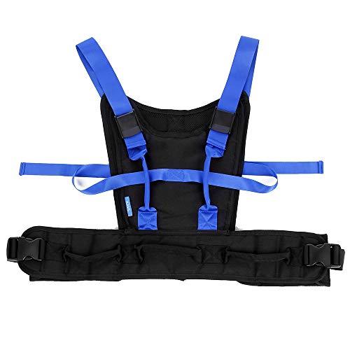 Gait Belt Transfer Belt with Handles Transfer Boards Elderly Aids for Living Medical Harness Walking Safety Patient Parkinson's, Pediatric Lifting Belt