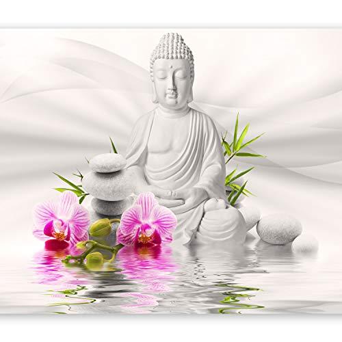 murando – Papier peint intissé - 400x280 cm - Papier peint - Tableaux muraux déco XXL Bouddha b-A-0011-a-b