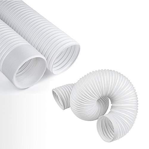 JOYOOO Kit Tubo Aria Tubo Flessibile Di Scarico In PVC Per Climatizzatore Portatile/Counterclockwise Installation Direction (Ø13CM X2M Long)