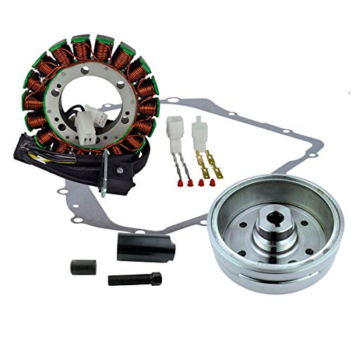 Kit Improved Flywheel Stator Puller Gasket for Arctic Cat TBX 400 2004-2006 | TRV 400 2006 2007 | 375 2002 | 400 Auto 2003-2008 TBX400 TRV400 | OEM Repl.# 3430-054 3430-071 0802-037 3430-053