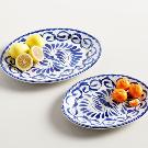 Puebla Oval Serving Platters | Pottery Barn