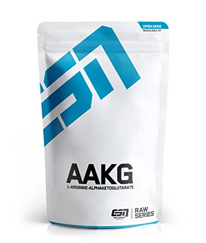 ESN AAKG Pulver – 500 g – reinstes L- Arginin-Alpha-Ketoglutarat – optimierte Arginin-Formel – 100 Portionen – vegan – Made in Germany