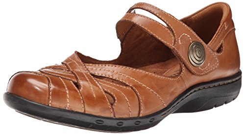 Rockport Cobb Hill Women's Parker CH Dress Sandal,Tan,9 W US