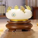 DGHJK Feng Shui Statue/Reichtum Lucky Figur Lucky Feng Shui Crafts TV-Schrank Home Decoration...