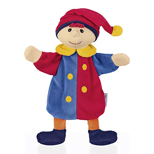 Sterntaler Handpuppe Kasper, Ideal für Puppentheater und Rollenspiele, 24 x 21 x 8 cm, Mehrfarbig
