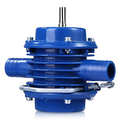 Heavy Duty Self-Priming Hand Electric Drill Water Pump,Micro Submersibles Motor Home Garden Centrifugal Pump Tools