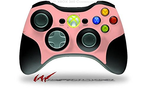 XBOX 360 Wireless Controller Decal Style Skin - Solids Collection Pink (CONTROLLER NOT INCLUDED)