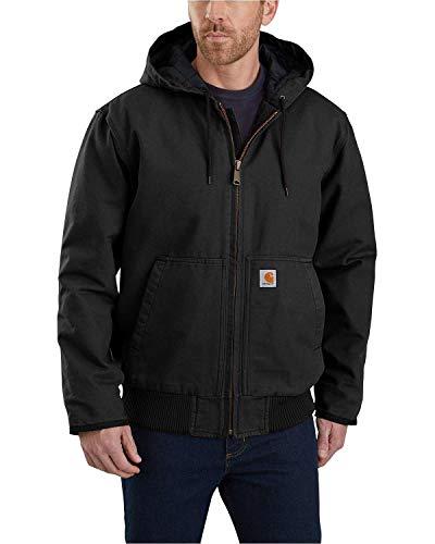 Carhartt Duck Active Jacket Giacca, Black, S Uomo