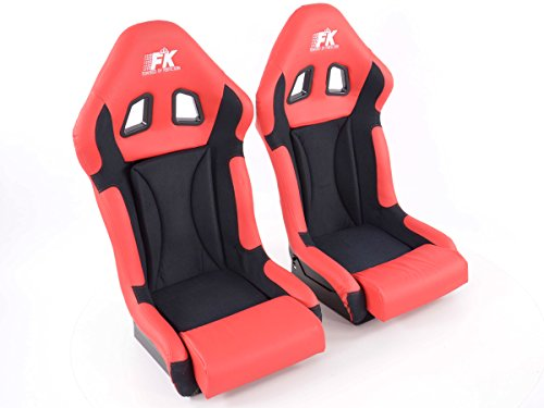 FK Automotive FK sportstoel autostoel volledige kuipstoel Race 1 racestoel glanzend glasvezel cover FKRSE705/705