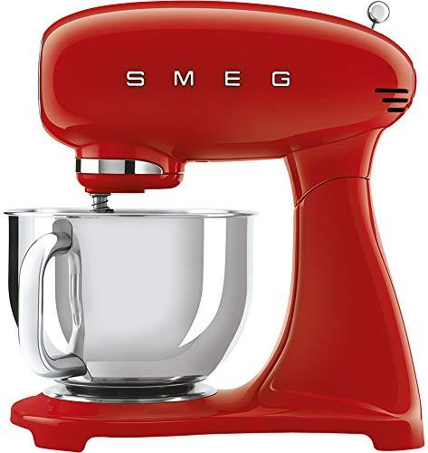 JJ - smf03rdeu - keukenmachine op sokkel, 4,8 l, 800 W, rood
