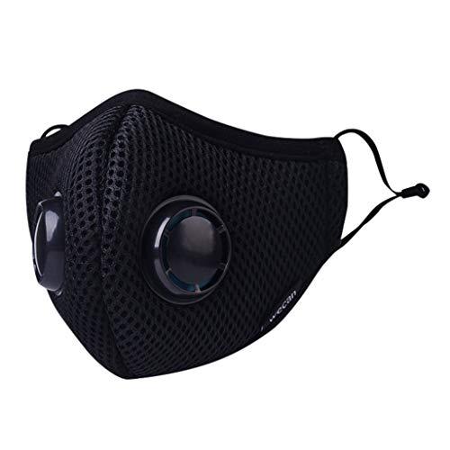 NINGNETI Unsex Anti Dust Antibacteriano Facial visera De Protección De Viaje Al Aire Libre Pack 1 unidades 20200425-NKZ-A033