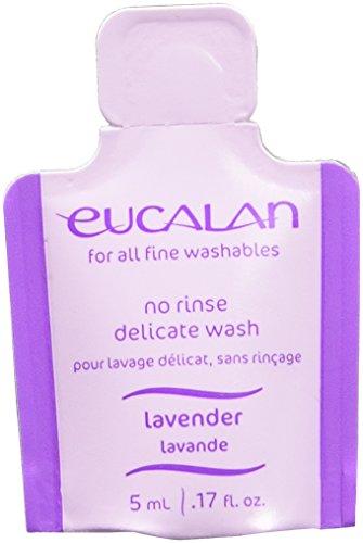 Eucalan Fine Fabric Wash 0.17ounce Single Use Pod Lavender, 25-Pack