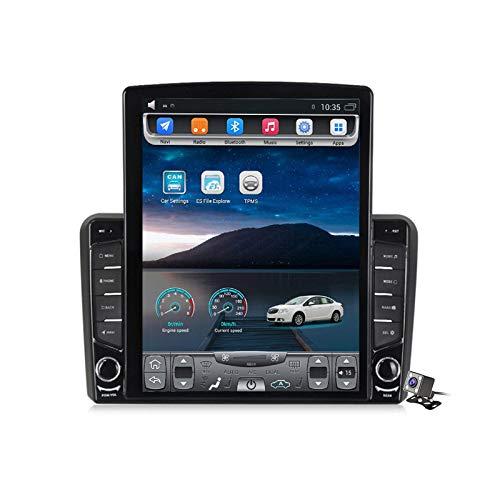 Android 9.0 Radio estéreo para automóvil compatible con Audi A3 S3 RS3 2006-2012 Navegación GPS Unidad principal de pantalla vertical de 9.7 pulgadas Reproductor multimedia MP5 Video con 4G WiFi DSP