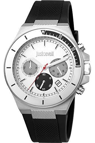 Reloj Just Cavalli Sport JC1G139P0015 - Cronógrafo Cuarzo para Hombre en Silicona