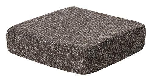 Schwar Textilien Kissen Sitzblock Bodenkissen Stuhlkissen Sitzerhöhung orthopädisch Trend 6 Farben (braun)