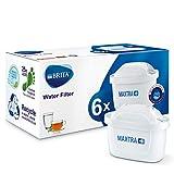 BRITA MAXTRA Water Filter Cartridge-6 Pack, White, Pack of 6