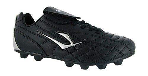 Mirak Forward - Chaussures de Football à Crampons moulés - Homme (43 EUR) (Noir)