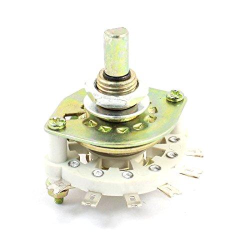 1P8T 1 Polo 8 Posición Cerámica Band Canal Rotativo Interruptor Selector