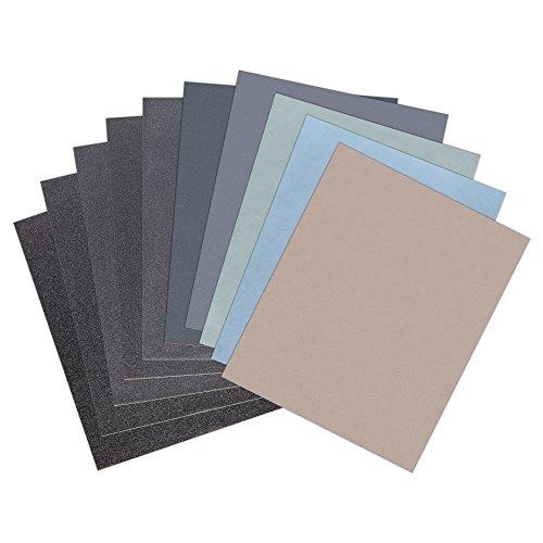 Preisvergleich Produktbild 50 Blatt P7000 Körnung Schleifpapier Nass und Trocken Sandpapier 230 x 280 mm
