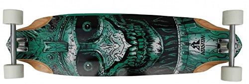 Koston Longboard Profi Komplettboard Cruiser/Carver Skull Amort 36.7 x 10.0 inch - High End Longboard Carving Board