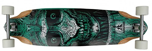 Koston Longboard Profi Komplettboard Cruiser/Carver Skull Amort 36.7 x 10.0 inch - High End Longboard Carving Board