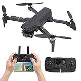 Mini Dron plegable con cámara 8K HD Gps Sin escobillas Estabilizador antivibración de 3 ejes Quadcopter Video en vivo Dron con un cardán de cámara ESC de 90 °, Tiempo de vuelo de 20 minutos para adult