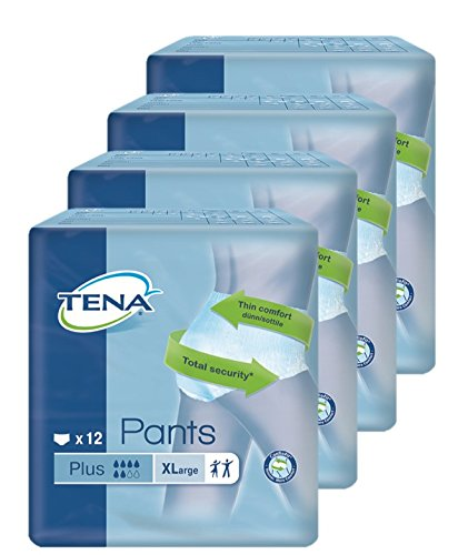 TENA Pants Plus - Gr. Extra Large - PZN 07515227 - (48 Stück).