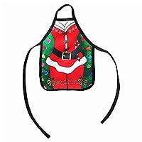 Mignon Mini tablier forme design avec un motif de noël, la créativité et l'imagination. Magnifique porte-bouteille en forme de coque pour une fête de Noël. Fabriqué en matériau de haute qualité, il est durable. Il saura ajouter atmosphère de Noël dan...