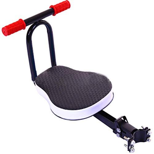 Pinpig Fietsstoelen voor kinderen, kinderzitje T-stoel Verwijderbare Voorkant Fietsstoel Vouwen Kinderzitje voor Buitensporten