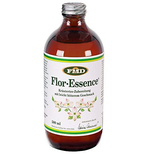Flor Essence flüssig, 500 ml | Unterstützung des Wohlbefindens | Kräuter-Mischung fertig zubereitet | Für 8 - 16 Tage | 8-Kräuter-Tee aus Kanada | Heiliger Trank der Indianer | Weltweit beliebt